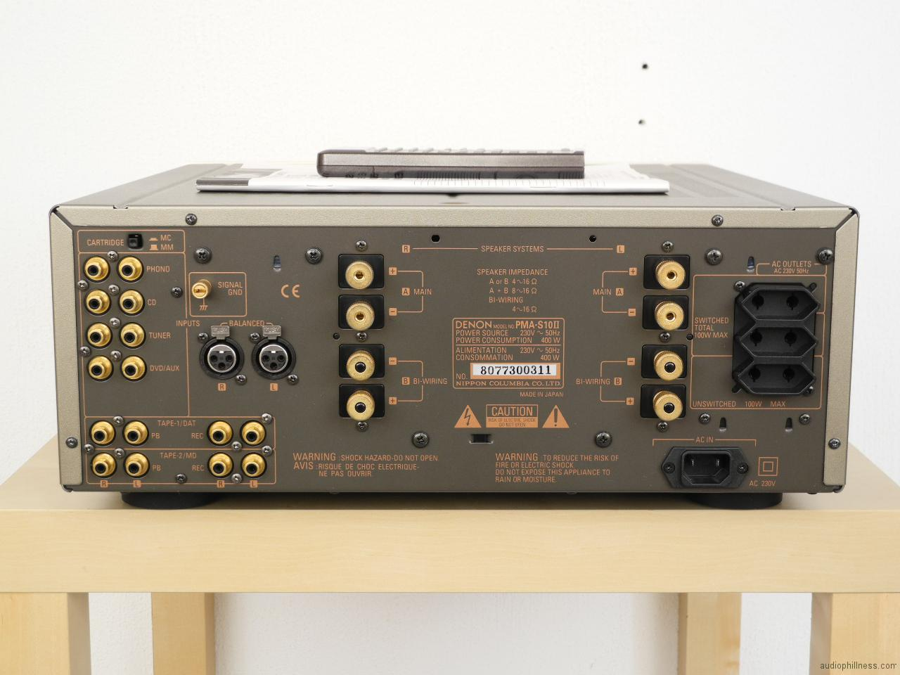 PMA-S10II-8 Xlr Wiring on