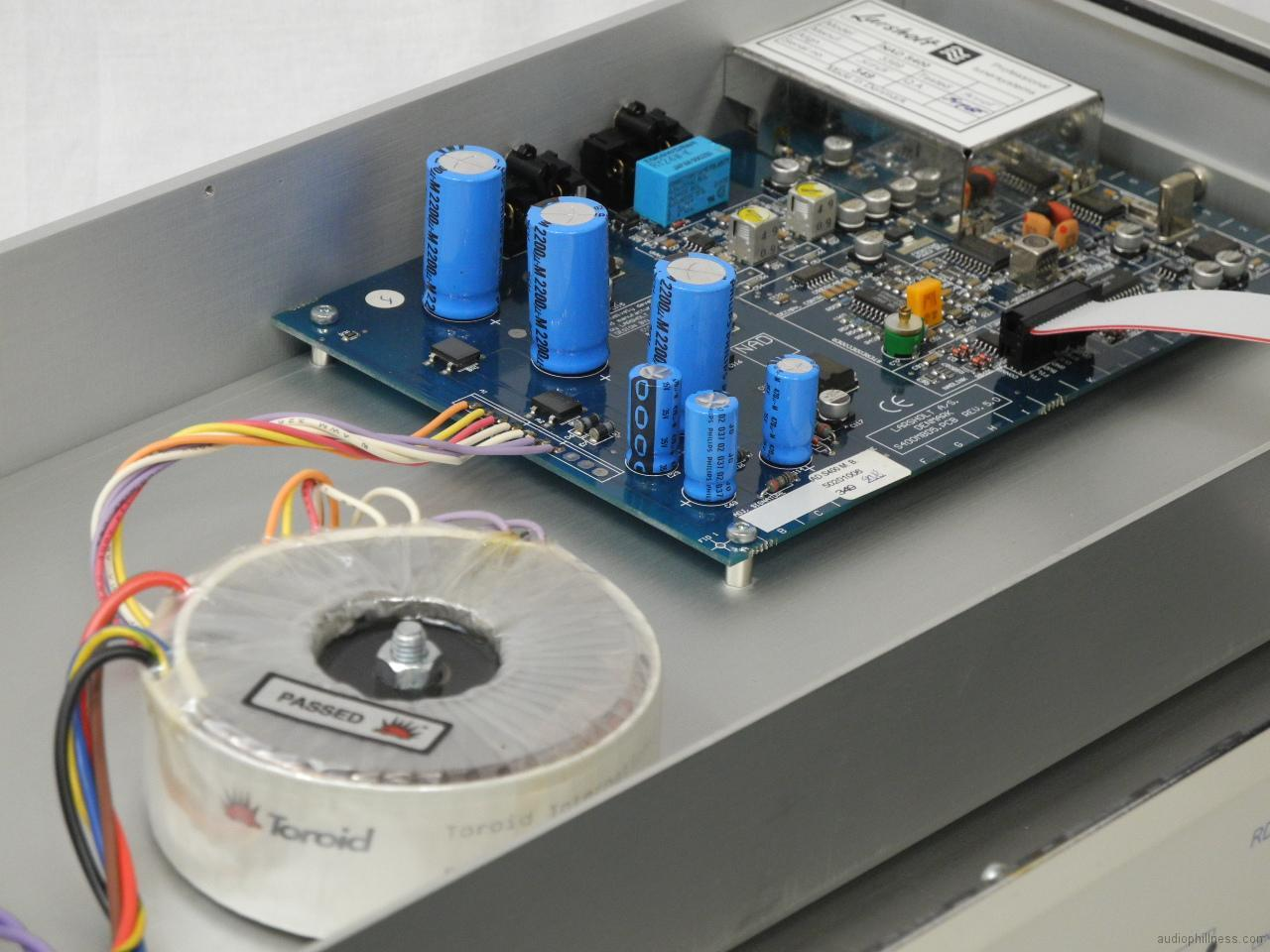 NAD S400 power transformer